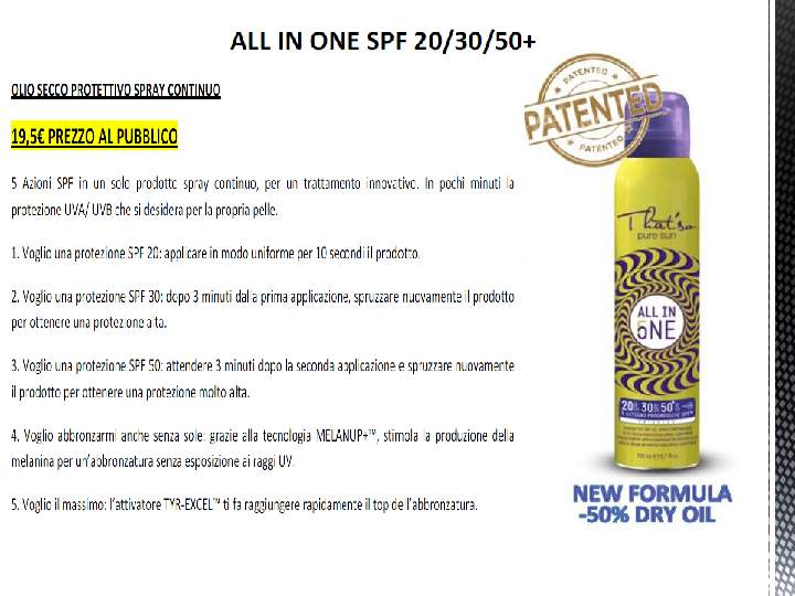 ALL IN ONE SPF 20-30-50+